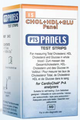 Chek Diagnostics Cardiochek Test Strips # 2412 - Cholesterol + HDL + Glucose + Panel For Cardiochek PA Analyzers Only, CLIA Waived, 15 test/bx