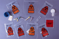 RD PLASTICS BIOHAZARD reclosable BAG # B101