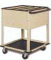 Wolf X-Ray Activity Carts # 80-454C - Cart, Small Activity, 4 Compartments, Each