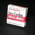 "Propper Bev-L-Edge Micro Slides # 15300100 - Plain Micro Slides, 3"" X 1""X 0.9"", 10/Gr"