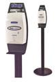 KIMBERLY-CLARK KIMCARE CASSETTE SKIN CARE SYSTEM DISPENSERS # 11430 - Floor Stand For Electronic Cassette, Black, ea