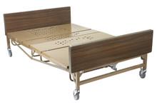 Drive Medical Full Electric Bariatric Hospital Bed # 15303bv-pkg - Includes Matt