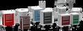 Waterloo Lightweight Aluminum Unicarts Anesthesia Cart # USGKA-3369-DKB - Careforde Healthcare Supply
