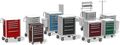Waterloo Lightweight Aluminum Unicarts Anesthesia Cart # UTGKA-333369-FWG - Careforde Healthcare Supply