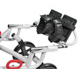 Foot and Ankle Positioner for Wenzelite Trotter Convaid Style Mobility Rehab Stroller # tr 8028