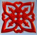 "Skil-Care Light Box Gel Pads - Quad Tree / Red # 912442R - 15""X15"", each"