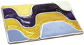 Skil-Care Activity Tray, Wavy Gel & Fabrics (Blue & Yellow) # 914671 - each