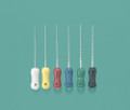 Miltex Instrument Company Plastic-Handle Flex-R Files # 14005 - flex-r-files, 21mm, 20, yellow, 6/pkg