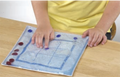 Skil-Care Tic-Tac-Toe Gel Pad (Clear Gel) # 914516