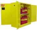 SECURALL DUAL ACCESS SAFETY STORAGE CABINETS # 4DA130 - 30 Gal. Self-Latch Standard 4-Door, 48 x 43 x 18