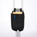 """Maddak Crutch Bag, Nylon, Black # F703290001 - 9"""" x 6"""" x 1.5"""" (22.86 x 15.24 x 3.81 cm), each"""