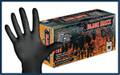 Black Maxx Latex Exam Gloves # BMX100 - 100/bx, 10bx/cs