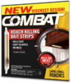 Dial Insecticides # 2340000973 - Combat Bait Strips, Roach Kill, 12/pk, 10 pk/cs