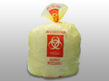"""ELKAY INFECTIOUS WASTE LINERS # HD33YE - Infectious Linen Liner, Yellow, High Denstiy, 31"""" x 43"""", 250/cs - Careforde Healthcare Supply"""