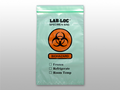 "ELKAY 3-WALL SPECIMEN TRANSFER BAGS # LAB20609GR - 3-Wall Specimen Transfer Bag, Reclosable, Biohazard, Green Tint, 2 mil, 6"" x 9"", 1000/cs - Careforde Healthcare Supply"