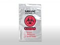 "ELKAY 2-WALL SPECIMAN TRANSFER BAGS # LAB220609 - 2-Wall Specimen Transfer Bag, Reclosable, Biohazard, 2 mil, 6"" x 9"", 1000/cs - Careforde Healthcare Supply"