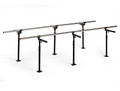 Hausmann Floor Mounted Parallel Bars # 1388 - Careforde Healthcare Supply