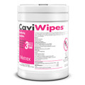 "Metrex Caviwipes Disinfecting Towelettes # 10-1090 - 6"" x 6.75"", 220 Wipes per Canister, 12 can/cs"