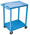 Medline 2-Shelf Tub Carts # EVSHE32BLU