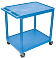 Medline 2-Shelf Tub Carts # EVSHE38BLU