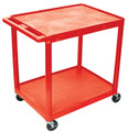 Medline 2-Shelf Tub Carts # EVSHE38RD