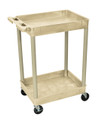Medline 2-Shelf Tub Carts # EVSTC11BEI