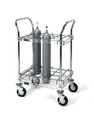 Medline Inhalation Therapy Cart for D or E Cylinders # MDRGCC1
