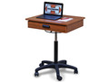 HAUSMANN 9210 MODEL MOBILE COMPUTER WORKSTATION # 9210-5904 - Careforde Healthcare Supply