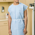Graham Medical Non-Woven Isolation Gown # 78187 - 360° Wrap-Around Isolation Gown, One Size Fits Most, Yellow, 25/cs