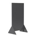 "Akro-Mils Double-Sided Rivet Floor Rack # 30676 - 36"" W x 66 3/8"" H, Gray, each"
