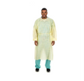 Cardinal Health Tri-Layer SMS Fabric Isolation Gown # 2200PG - Cover Gown, SMS, with Ties, Blue, Universal Size, 10/pk, 10 pk/cs