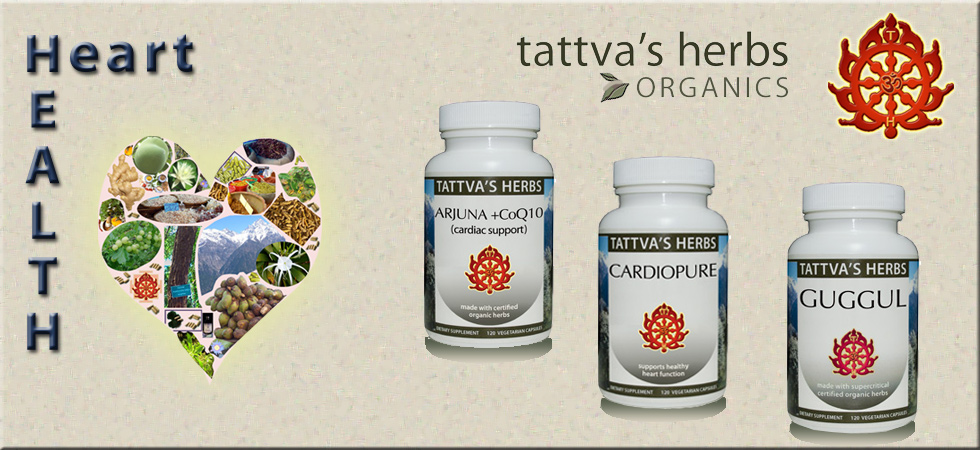 Herbal supplements for heart health | Arjuna, CardioPure & Guggul