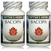 Bacopa Full Spectrum CO2 Extract  500 mg. 240 Vcaps (2 Pack - 120 ct./ea)