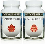 Cardiopure Blood Pressure Support With Rauwolfia - Reduces Hypertension, Supports Heart Health - Organic Non GMO Holistic Extract - 240 Vcaps. Herbal Supplement 2 Month Supply