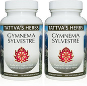 Gymnema Sylvestre Full Spectrum CO2 Extract  500 mg - 240 Vegetarian Capsules ( 2 pack - 120 ct/ea)