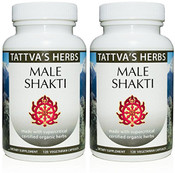 Male Shakti,  Powerful Male Enhancing Formula - Organic Non GMO Supplement Raw - Boosts Libido Testosterone Stamina, Endurance - Tribulus, Mucuna, Ashwagandha, Shilajit 240 Vcaps 2 Month Supply