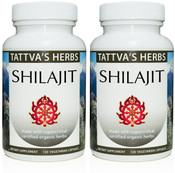 Shilajit Full Spectrum CO2 Extract  500 mg - 240 Vegetarian Capsules (2 pack - 120 ct/ea)