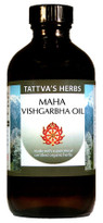 Maha Vishgarbha Oil, 4 oz (OUT OF STOCK)