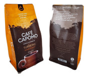 Capomo  With Turmeric  Curcumin  REAL Coffee Alternative. Caffeine,Gluten Free and Delicious.