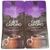 Hazelnut Capomo 22 oz.'s  (2 pack)   THE  Coffee Alternative - Caffeine, Gluten Free and Delicious.