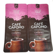 Carmel Capomo 22 oz. 2 pack  A REAL Coffee Alternative. Caffeine,Gluten Free and Delicious.