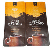 Turmeric Capomo 22 oz. 2 pack   A REAL Coffee Alternative. Caffeine,Gluten Free and Delicious.