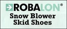Robalon skid shoes