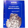 Kohler Twin Cylinder Engine Repair Manual TP-2043-A