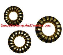 hair ring for Bharatanatyam and Kuchipudi dance makeup