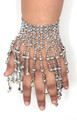 Belly dance hand jewelry M0009