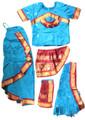 Kuchipudi dance costumes