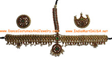 An Indian temple jewellery ornament for dance