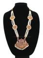 Sun and Moon single pendant dance jewelry long chain 3 Line