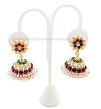 Temple jewelry ear rings